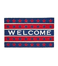 Living Quarters Americana Welcome Coir Mat