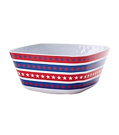 Living Quarters Americana Serving Bowl