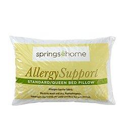 Springs Home Allergy Support Pillow