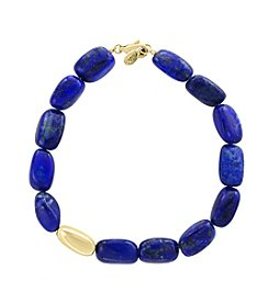 Effy® 14K Yellow Gold  Lapis  Bracelet