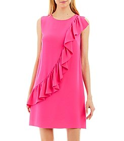 Nicole Miller New York™ Ruffle Shift Dress