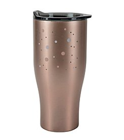 Boston Warehouse 30-Oz. Rose Goldtone Stainless Steel Double Walled Tumbler