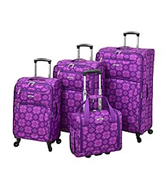 Leisure Vector Purple Geometric Luggage Collection