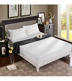 Greenzone Bamboo Viscose Jersey Mattress Protector with 2 Queen Pillow Protectors