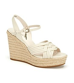 COACH DOTTIE ESPADRIELLE WEDGE SANDALS