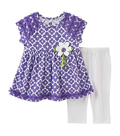 Kids Headquarters® Girls' 2T-6X 2-Piece Tunic & Capris Set
