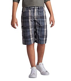 Lee® Boys' 8-20 Grafton Plaid Shorts