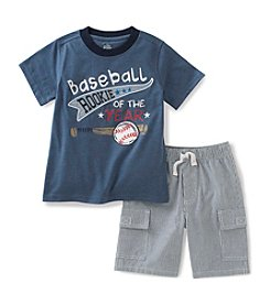 Kids Headquarters Baby Boys' Rookie Tee and Shorts Set