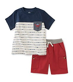 Kids Headquarters Baby Boys' Crab Tee and Shorts Set