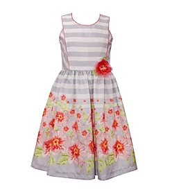 Bonnie Jean® Girls' 7-16 Floral Border Dress