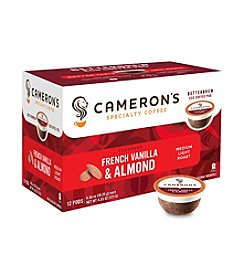 Cameron's Specialty Coffee French Vanilla & Almond 12-ct. Single Serve Coffee