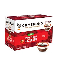 Cameron's Specialty Coffee Decaf Vanilla Hazelnut 12-ct. Single Serve Coffee