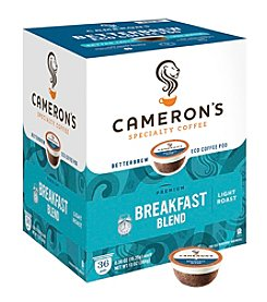 Cameron's Specialty Coffee Premium Breakfast Blend 36-pk. Single Serve Coffee