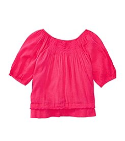 Polo Ralph Lauren® Girls' 2T-6X Smocked Top