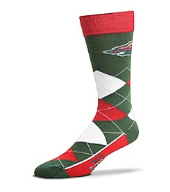 For Bare Feet NHL® Minnesota Wild Men's Argyle Socks
