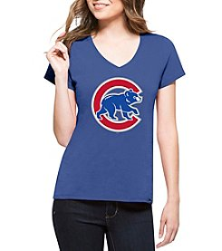 47 Brand MLB® Chicago Cubs Women's Clutch Splitter Short Sleeve Shirt