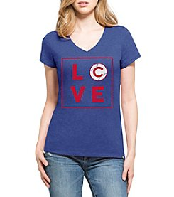 47 Brand MLB® Chicago Cubs Women's Club Short Sleeve Shirt