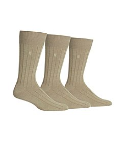 Chaps® Men's 3-Pack True Rib Dress Socks