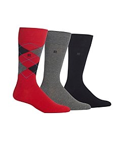 Chaps® Men's 3-Pack Argyle Dress Socks