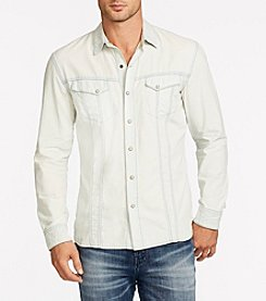 William Rast® Men's Oak Long Sleeve Denim Shirt