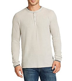 William Rast® Men's Kurt Long Sleeve Henley Shirt