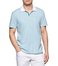 Calvin Klein Men's All Over Printed Polo