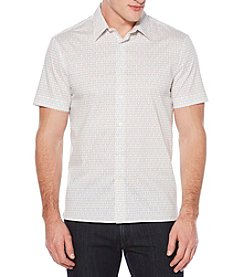 Perry Ellis® Men's Short Sleeve Printed Rectangle Shirt