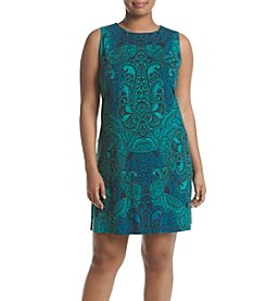 Ruff Hewn GREY Plus Size Printed Tank Dress