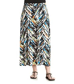 Kasper® Plus Size Knit Maxi Skirt