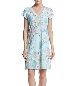 Miss Elaine® Floral Printed Night Gown