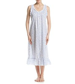 Miss Elaine® Daisy Printed Nightgown