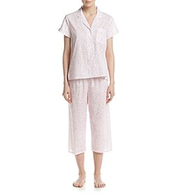 Miss Elaine® Printed Pajama Set