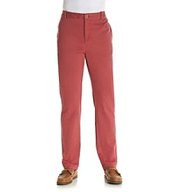 Le Tigre Men's Colored Twill Flat Front Pants