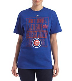Majestic® MLB® Chicago Cubs Women's League Conquerors Short Sleeve Tee