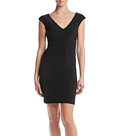 Betsy & Adam® Short Seamed Dress