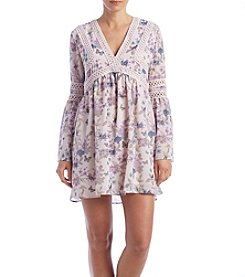 Skylar & Jade™ Bell Sleeve Babydoll Dress