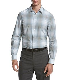 Perry Ellis® Men's Long Sleeve Plaid Ombre Shirt