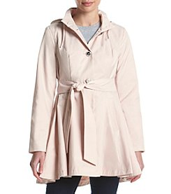 Betsey Johnson® Fit And Flare Trench Coat