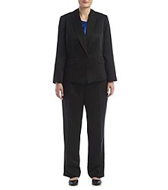 LeSuit® Plus Size Single Button Pant Suit