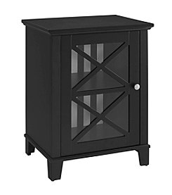 Linon Home Decor Products, Inc. Rapture Awning Stripe Cabinet