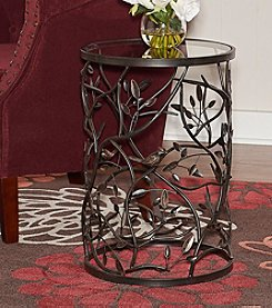 Linon Home Decor Products, Inc. Bird and Branch Accent Table