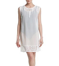 Miken® Lace Trim Coverup Tunic