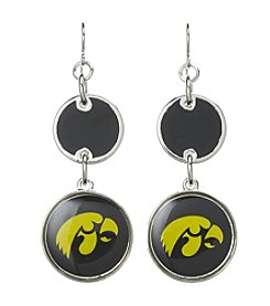 Studio Works® NCAA® Iowa Hawkeyes Drop Earrings