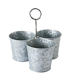 Thirstystone® Galvanized Set Of Three Snack Bowls