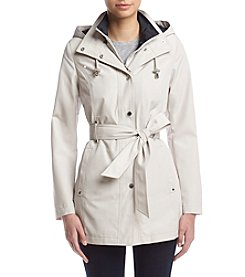 Nautica® Hooded Trench Coat