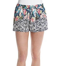 Be Bop Tropical Flower Shorts