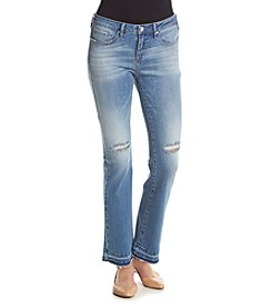 William Rast® Release Hem Crop Jeans