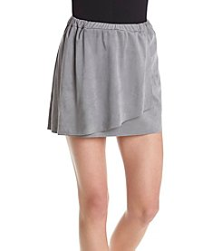 Kensie® Stretch Faux Suede Mini Skirt