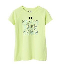 Under Armour® Girls' 7-16 Never Back Down Tee