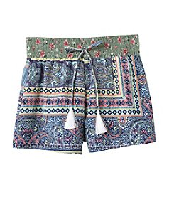Amy Byer Girls' 7-16 Printed Shorts